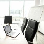 Inventarisierung von Wirtschaftsgütern in einem Bürogebäude