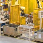 Tracking und digitale Beschriftung von Behältern in der Logistik