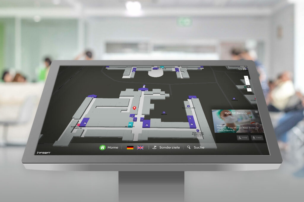 Press Release Infsoft Wayfinding Terminal